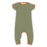 Green Polka Dot Romper ($54)