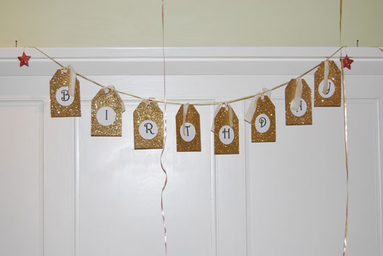 Kiddie Soiree: Birthday Sign