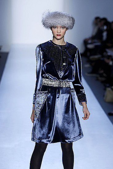 Trend report on velvet in fall 2008
