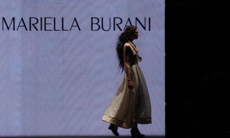 Milan Fashion Week: Mariella Burani Spring 2009