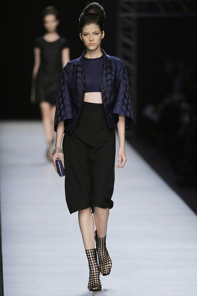 Paris Fashion Week: Yves Saint Laurent Spring 2009