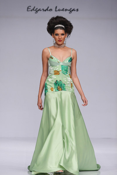 Mexico Fashion Week: Edgardo Luegas Spring 2009
