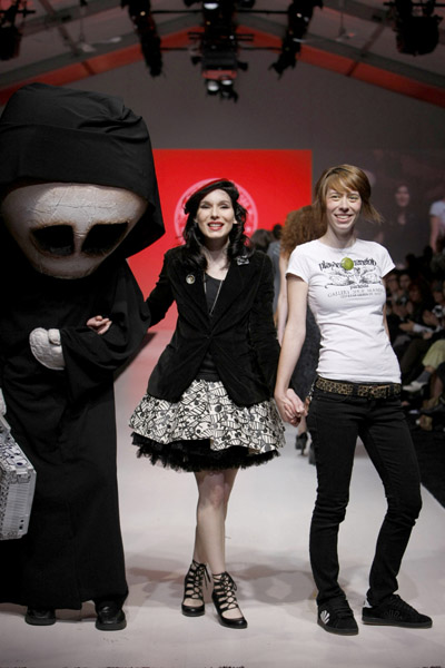 L'Oreal Toronto Fashion Week: Playdead Cult & Damzels Spring 2009
