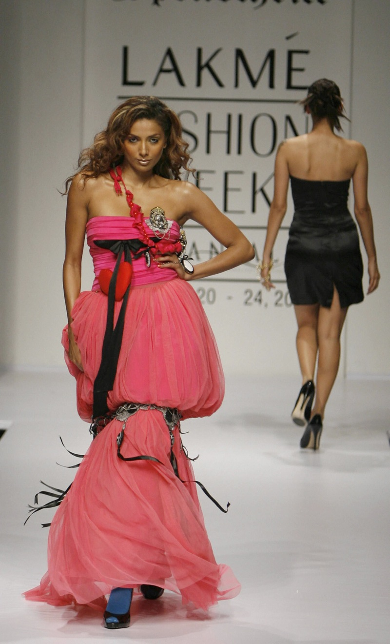 Lakme India Fashion Week: Shane and Falguni Spring 09