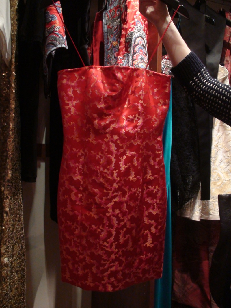 In The Showroom: Naeem Khan Spring 2009