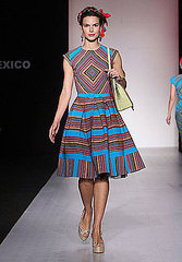 Mexico Fashion Week: Manhes Massun Spring 2009