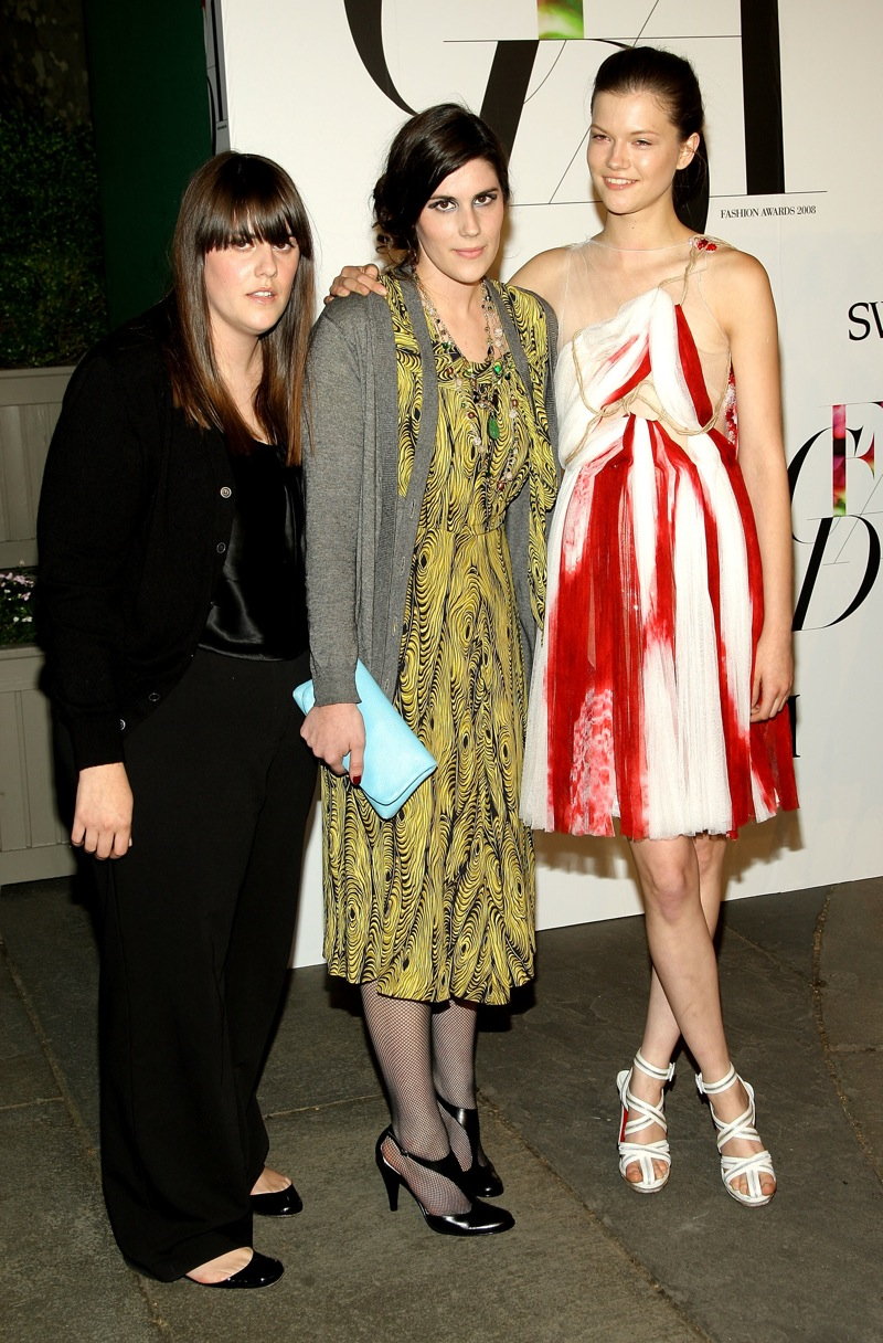 June 2008: at the CFDA awards
