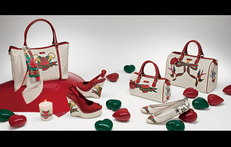 Gucci Tattoo Heart Collection To Benefit UNICEF: Collection & Ad Campaign