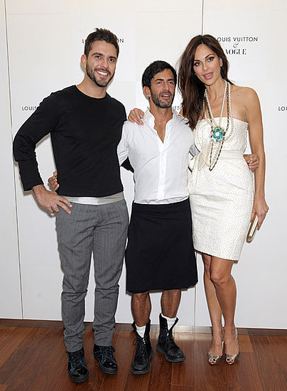 Lorenzo Martone, Marc Jacobs, Actress Tasha de Vasconcelos 