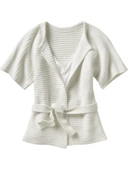 Tie-Front Cardigan $29.50, Old Navy