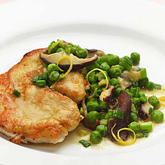 Turkey Cutlets with Peas &amp; Spring Onions