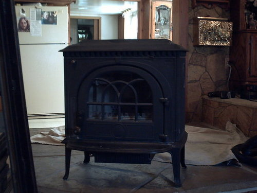 From Wood Stove to Pellet Stove!