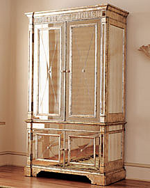 Mirrored Armoire�-� Furniture�-� Neiman Marcus