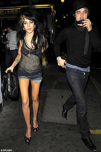 Amy has emphysema: Winehouse's father speaks out and warns Pete Doherty to stay away from her