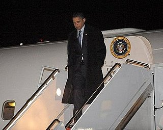 Obama Moves to Washington