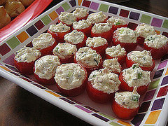 Stuffed Cherry Tomatoes
