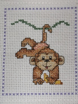 Ems baby first book- Zoo Monkey