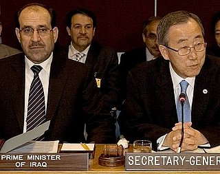 Progress in Iraq Gives UN Secretary General Hope