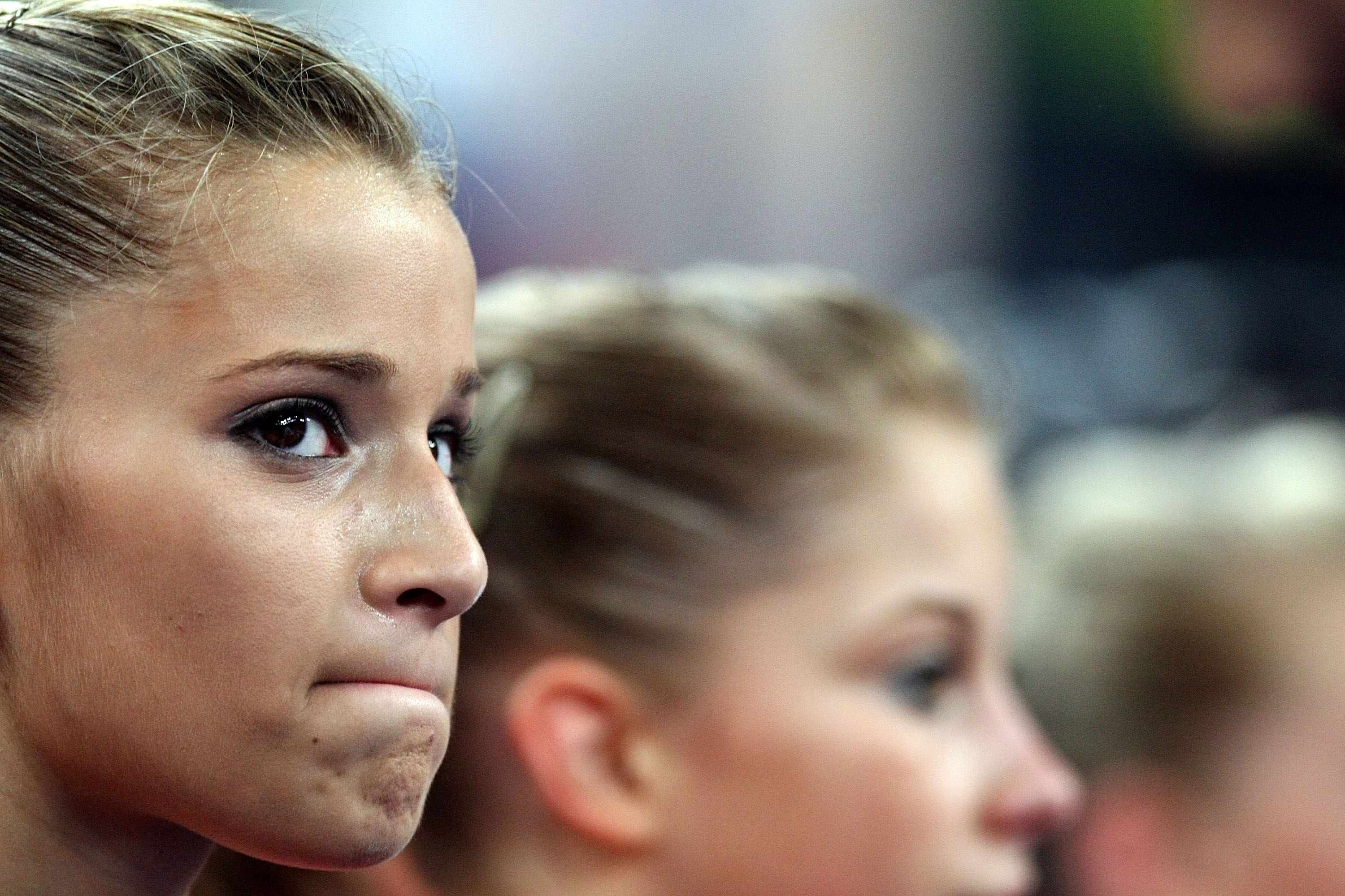 Alicia Sacramone is not happy.