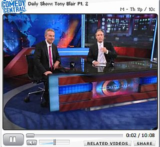 Lighten Up! Tony Blair on Inexplicable Friendship With Bush