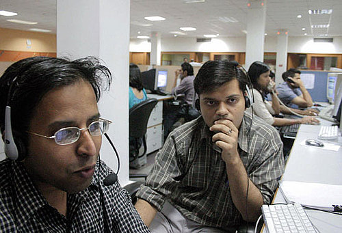 Young Indians Ready to Hang Up on Call Center Jobs
