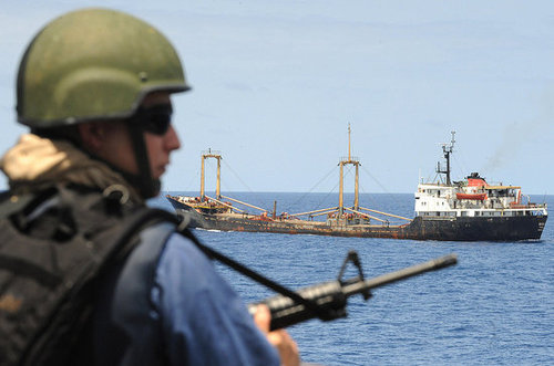 International Flotilla, Maybe Mercenaries, to Take on Pirates!