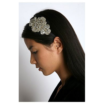 A Sparkly Headwrap