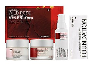 Wednesday Giveaway! Korres Wild Rose Triple Benefits Skincare Collection