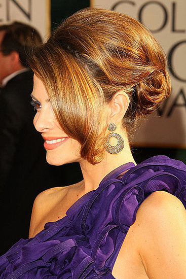 Trend Alert: Curly Updos at the Golden Globe Awards