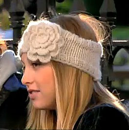 Fight the Cold With a Whitney Port-Inspired Floral Headband