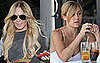 Lindsay Lohan and Lauren Conrad's Blue Nail Polish