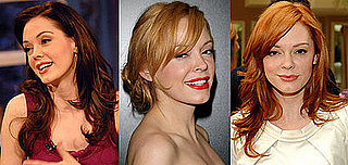 Rose McGowan's Red Hair