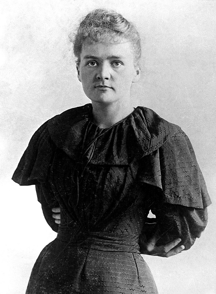 Marie Curie, 1895