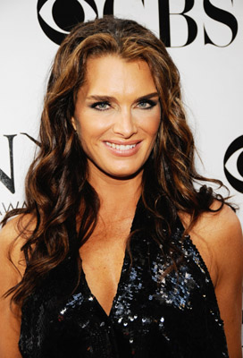 Brooke Shields at the Tony Awards