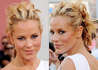 Love It or Hate It? Maria Bello's Sectioned Updo