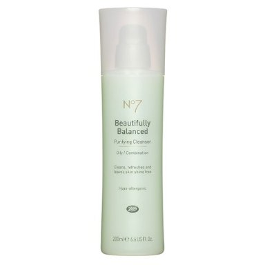 Wash with a balancing cleanser