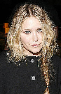 Mary Kate Olsen's hair at Proenza Schouler