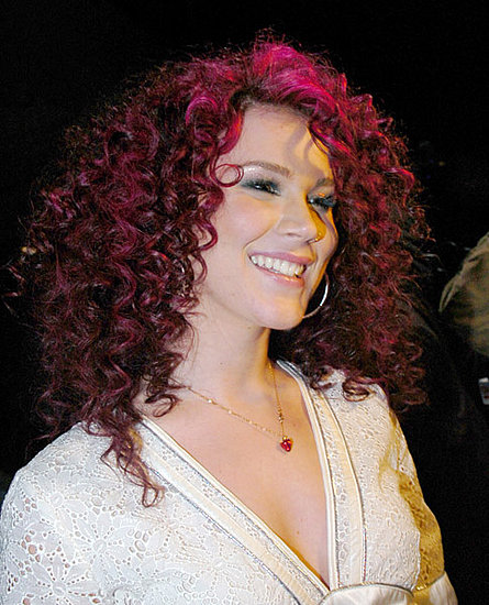 joss stone hair. celebrities with pink hair