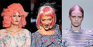 celebrities with pink hair
