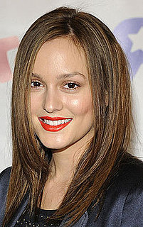 Leighton Meester's Red-Orange Lipstick at the Children Affected by AIDS Foundation Dream Halloween