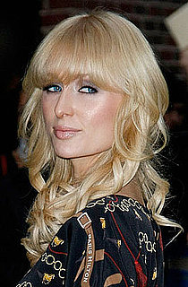 Paris Hilton at the Letterman Show in November 2008