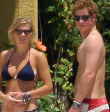 Harry and Chelsy Royally Enjoy Their Vacation