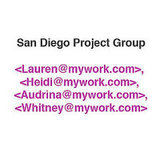 Set Up Groups in Your Email