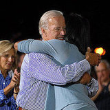 Running Mate Steals a Hug