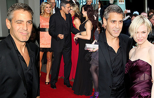 George Clooney Visits Downing Street Before Heading To The Leatherheads Premiere With Renee Zellweger