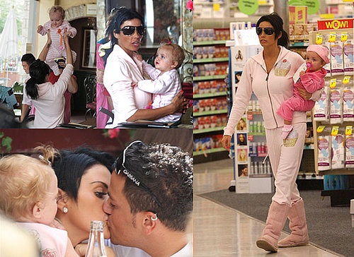 Princess Tiaamii Has Chicken Pox While in LA with parents Jordan a.k.a. Katie Price and Peter Andre