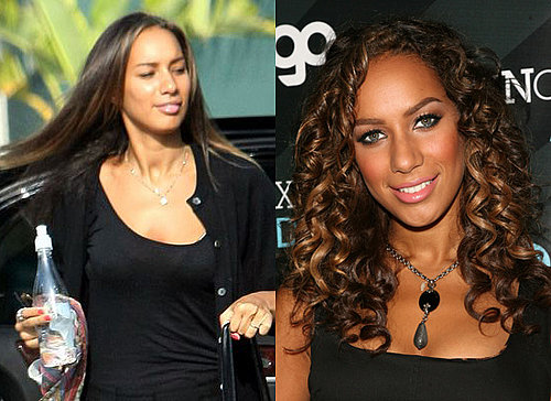 Pop Poll on Leona Lewis' Curly Hair vs. Her Straight Hair