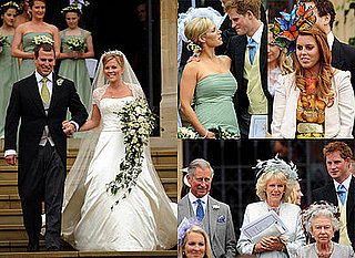 Peter Phillips Marries Autumn Kelly in Front of the Queen, Prince Harry and Princess Beatrice