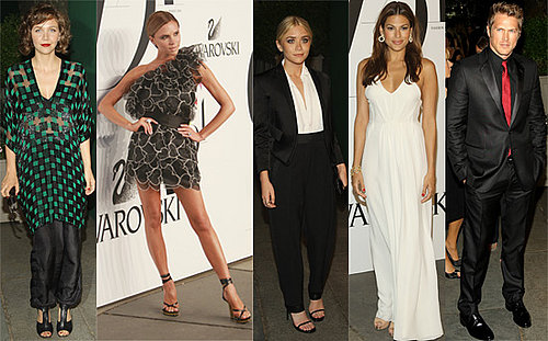 Gallery Of The 2008 CFDA Awards With Ashley Olsen, Maggie Gyllenhaal, Victoria Beckham, Diddy and more.