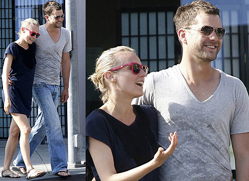 Joshua Jackson And Diane Kruger Shopping In Santa Monica